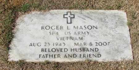 MASON, ROGER L - Lincoln County, Oregon | ROGER L MASON - Oregon Gravestone Photos