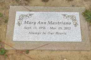 MASTRIANO, MARY ANN - Lincoln County, Oregon | MARY ANN MASTRIANO - Oregon Gravestone Photos