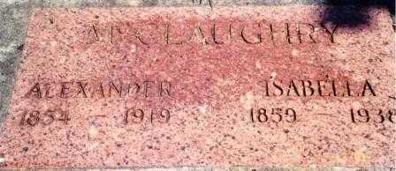 LOGAN MCCLAUGHRY, SABRINA ISABELLA - Lincoln County, Oregon | SABRINA ISABELLA LOGAN MCCLAUGHRY - Oregon Gravestone Photos