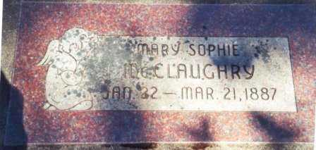 MCCLAUGHRY, MARY SOPHIE - Lincoln County, Oregon | MARY SOPHIE MCCLAUGHRY - Oregon Gravestone Photos