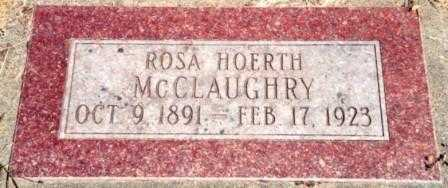 HOERTH MCCLAUGHRY, ROSA - Lincoln County, Oregon | ROSA HOERTH MCCLAUGHRY - Oregon Gravestone Photos