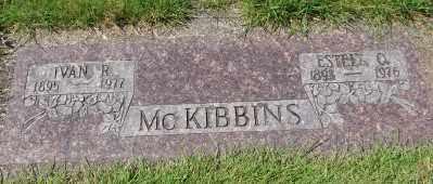 MCKIBBINS, ESTELL O - Lincoln County, Oregon   ESTELL O MCKIBBINS - Oregon Gravestone Photos