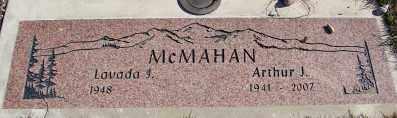 MCMAHAN, LAVADA - Lincoln County, Oregon | LAVADA MCMAHAN - Oregon Gravestone Photos