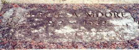 MOORE, PERCIE ALEXANDER - Lincoln County, Oregon   PERCIE ALEXANDER MOORE - Oregon Gravestone Photos