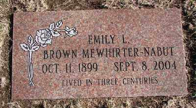 NABUT, EMILY L - Lincoln County, Oregon | EMILY L NABUT - Oregon Gravestone Photos