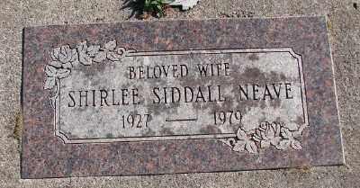 NEAVE, SHIRLEE - Lincoln County, Oregon | SHIRLEE NEAVE - Oregon Gravestone Photos
