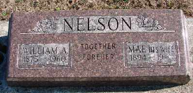 NELSON, MAE - Lincoln County, Oregon | MAE NELSON - Oregon Gravestone Photos