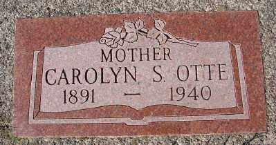 OTTE, CAROLYN S - Lincoln County, Oregon | CAROLYN S OTTE - Oregon Gravestone Photos