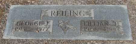 REILING, LILLIAN E - Lincoln County, Oregon | LILLIAN E REILING - Oregon Gravestone Photos