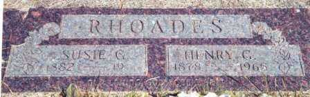 LOGAN RHOADES, SUSAN GAY - Lincoln County, Oregon | SUSAN GAY LOGAN RHOADES - Oregon Gravestone Photos