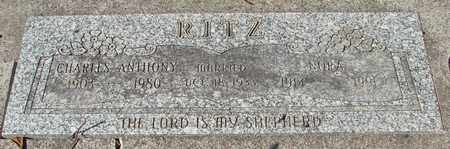 RITZ, NORA - Lincoln County, Oregon | NORA RITZ - Oregon Gravestone Photos