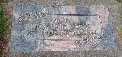 YOUNG, JOSEPHINE - Lincoln County, Oregon | JOSEPHINE YOUNG - Oregon Gravestone Photos