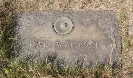 ABERSON, DAVID A - Linn County, Oregon | DAVID A ABERSON - Oregon Gravestone Photos
