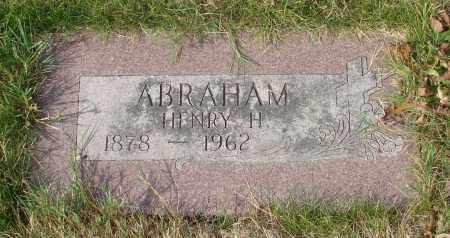 ABRAHAM, HENRY H - Linn County, Oregon | HENRY H ABRAHAM - Oregon Gravestone Photos