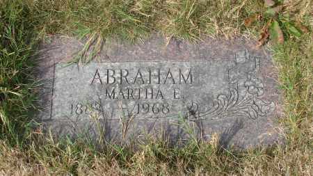 ABRAHAM, MARTHA E - Linn County, Oregon   MARTHA E ABRAHAM - Oregon Gravestone Photos