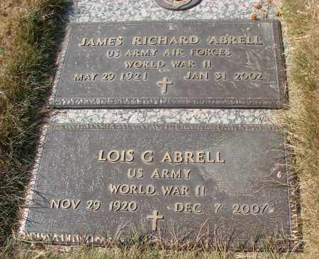 ABRELL, JAMES RICHARD - Linn County, Oregon | JAMES RICHARD ABRELL - Oregon Gravestone Photos
