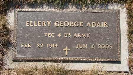 ADAIR, ELLERY GEORGE - Linn County, Oregon | ELLERY GEORGE ADAIR - Oregon Gravestone Photos