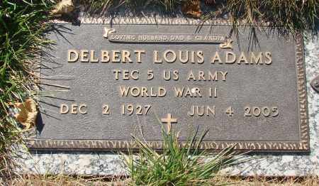 ADAMS, DELBERT LOUIS - Linn County, Oregon | DELBERT LOUIS ADAMS - Oregon Gravestone Photos