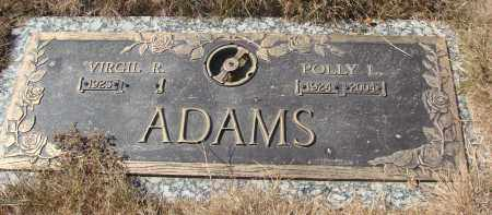 ADAMS, POLLY L - Linn County, Oregon | POLLY L ADAMS - Oregon Gravestone Photos