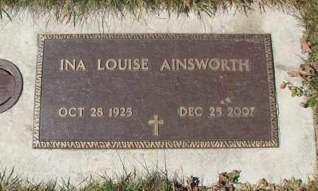 AINSWORTH, INA LOUISE - Linn County, Oregon | INA LOUISE AINSWORTH - Oregon Gravestone Photos