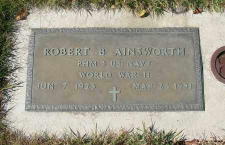 AINSWORTH, ROBERT B - Linn County, Oregon | ROBERT B AINSWORTH - Oregon Gravestone Photos