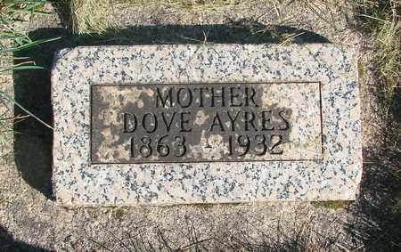 AYRES, FLORENCE - Linn County, Oregon | FLORENCE AYRES - Oregon Gravestone Photos