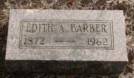BARBER, EDITH A - Linn County, Oregon   EDITH A BARBER - Oregon Gravestone Photos