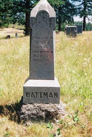BATEMAN, JOHN (FULL-VIEW) - Linn County, Oregon   JOHN (FULL-VIEW) BATEMAN - Oregon Gravestone Photos