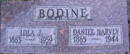BODINE, DANIEL HARVEY - Linn County, Oregon | DANIEL HARVEY BODINE - Oregon Gravestone Photos