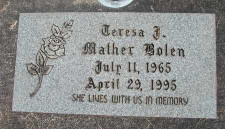MATHER, TERESA JEAN - Linn County, Oregon | TERESA JEAN MATHER - Oregon Gravestone Photos
