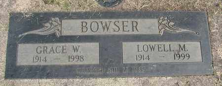 BOWSER, LOWELL M - Linn County, Oregon   LOWELL M BOWSER - Oregon Gravestone Photos