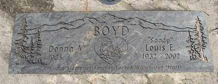 BOYD, LOUIS E - Linn County, Oregon | LOUIS E BOYD - Oregon Gravestone Photos