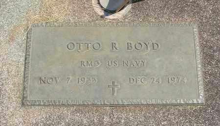 BOYD, OTTO ROY - Linn County, Oregon | OTTO ROY BOYD - Oregon Gravestone Photos