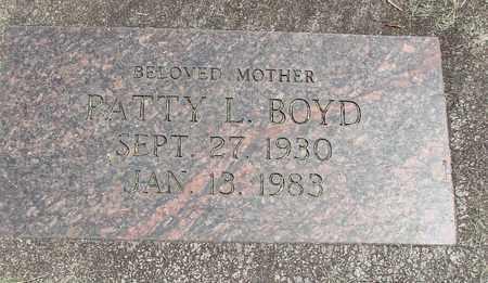 BOYD, PATTY L - Linn County, Oregon   PATTY L BOYD - Oregon Gravestone Photos