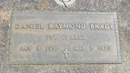 BRADY (SERV), DANIEL RAYMOND - Linn County, Oregon | DANIEL RAYMOND BRADY (SERV) - Oregon Gravestone Photos