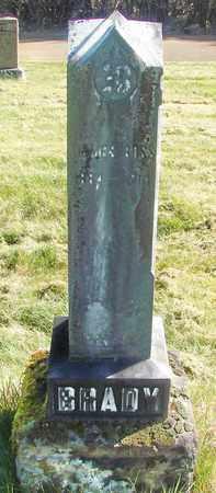 BRADY, JAMES ROSS - Linn County, Oregon   JAMES ROSS BRADY - Oregon Gravestone Photos