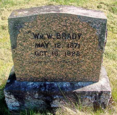 BRADY, WILLIAM WALLACE - Linn County, Oregon | WILLIAM WALLACE BRADY - Oregon Gravestone Photos