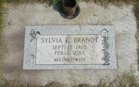 BRANDT, SYLVIA ELLEN - Linn County, Oregon | SYLVIA ELLEN BRANDT - Oregon Gravestone Photos