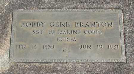 BRANTON, BOBBY GENE - Linn County, Oregon | BOBBY GENE BRANTON - Oregon Gravestone Photos