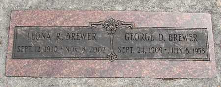 BREWER, LEONA RUTH - Linn County, Oregon | LEONA RUTH BREWER - Oregon Gravestone Photos