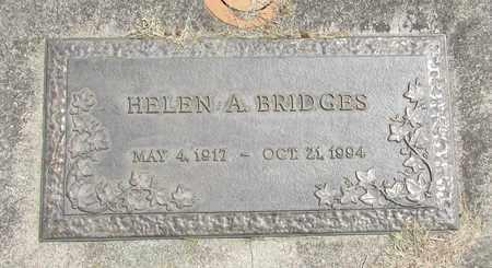 BRIDGES, HELEN A - Linn County, Oregon | HELEN A BRIDGES - Oregon Gravestone Photos