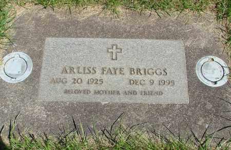 BRIGGS, ARLISS FAYE - Linn County, Oregon | ARLISS FAYE BRIGGS - Oregon Gravestone Photos