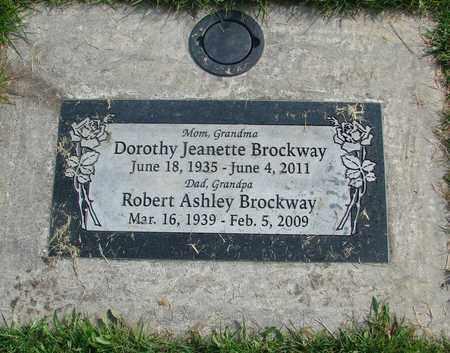 BROCKWAY, DOROTHY JEANETTE - Linn County, Oregon   DOROTHY JEANETTE BROCKWAY - Oregon Gravestone Photos
