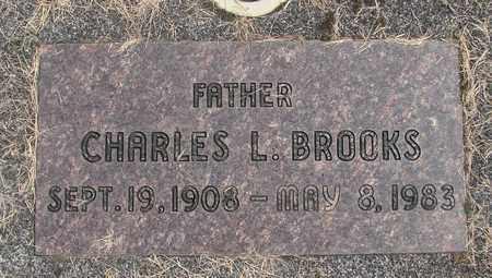 BROOKS, CHARLES L - Linn County, Oregon | CHARLES L BROOKS - Oregon Gravestone Photos
