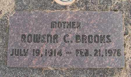 BROOKS, ROWENA C - Linn County, Oregon   ROWENA C BROOKS - Oregon Gravestone Photos