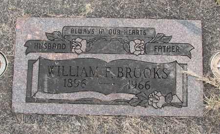 BROOKS, WILLIAM F - Linn County, Oregon | WILLIAM F BROOKS - Oregon Gravestone Photos