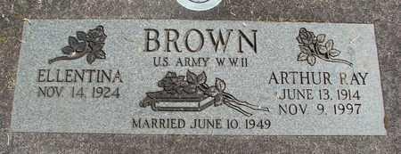 BROWN (WWII), ARTHUR RAY - Linn County, Oregon | ARTHUR RAY BROWN (WWII) - Oregon Gravestone Photos