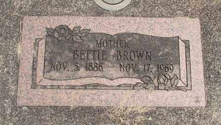 BROWN, BETTIE - Linn County, Oregon | BETTIE BROWN - Oregon Gravestone Photos