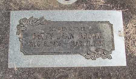 BROWN, BETTY JEAN - Linn County, Oregon | BETTY JEAN BROWN - Oregon Gravestone Photos