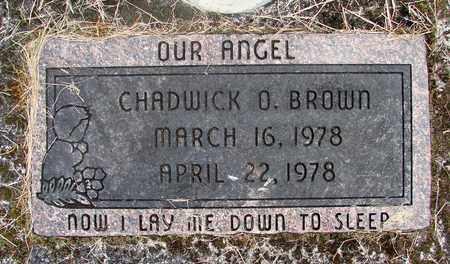 BROWN, CHADWICK O - Linn County, Oregon | CHADWICK O BROWN - Oregon Gravestone Photos